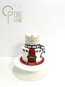 Gâteau sur mesure anniversaire adulte - Thème Cinéma et festival de Cannes