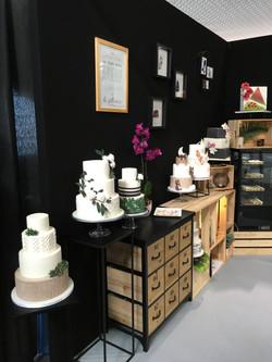 Salon du Mariage Perpignan 2019 - Stand CAKE A P'ART Wedding Cake