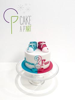 - Gâteau personnalisé enfant - Gâteau révélateur ou Gender cake