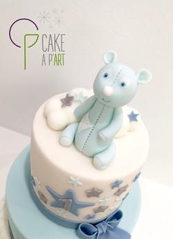 - Gâteau personnalisé anniversaire enfant - Thème Ourson étoiles