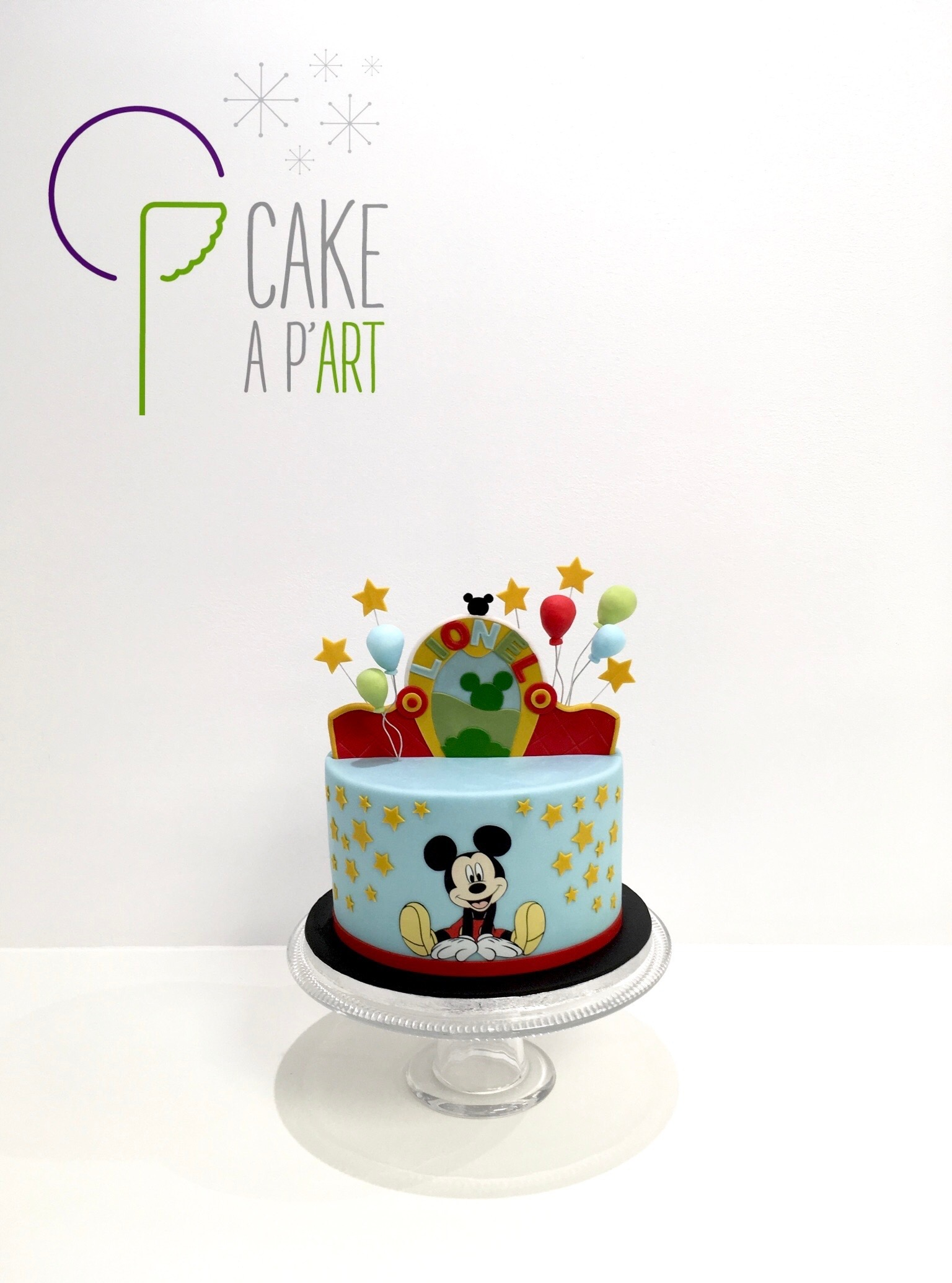 - Gâteau personnalisé anniversaire enfant - Thème Mickey park