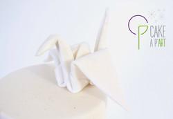 Gâteau Décor Origami - Cakeapart