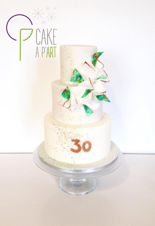 Gâteau Anniversaire Design Cakeapart