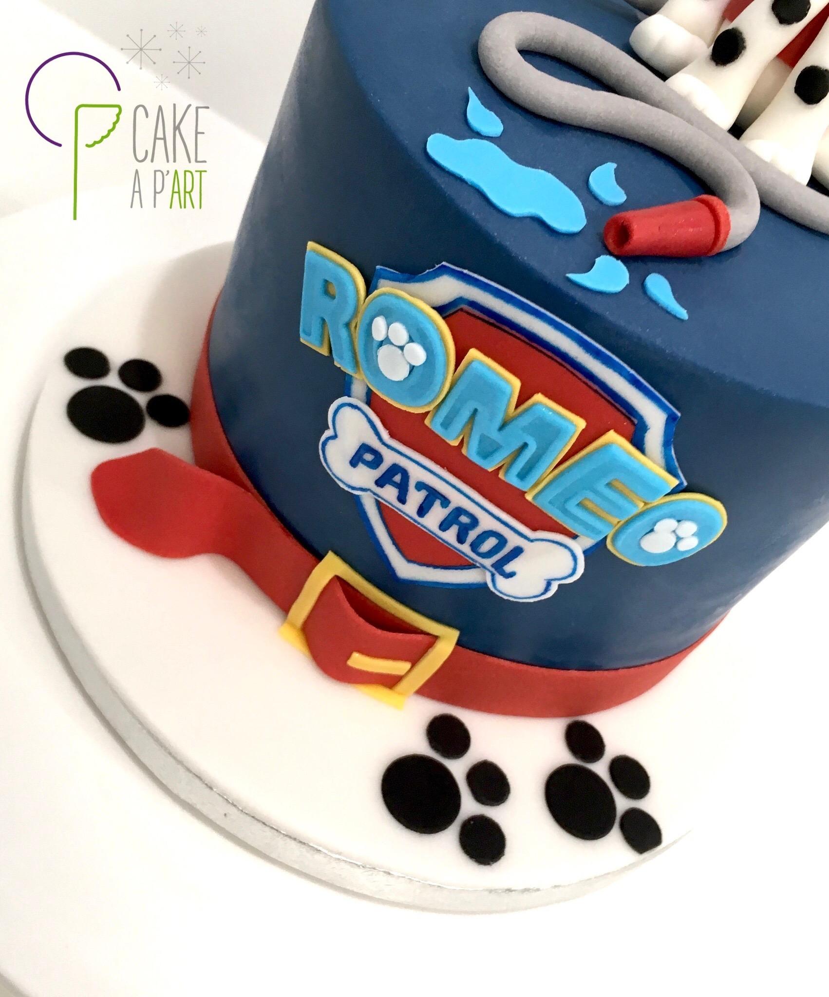 - Gâteau personnalisé anniversaire enfant - Thème Pat patrouille