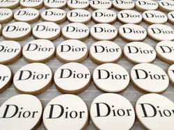 Gâteaux sur mesure Food Marketing Entreprise - Sablés logo Evènement Galeries Lafayette Dior