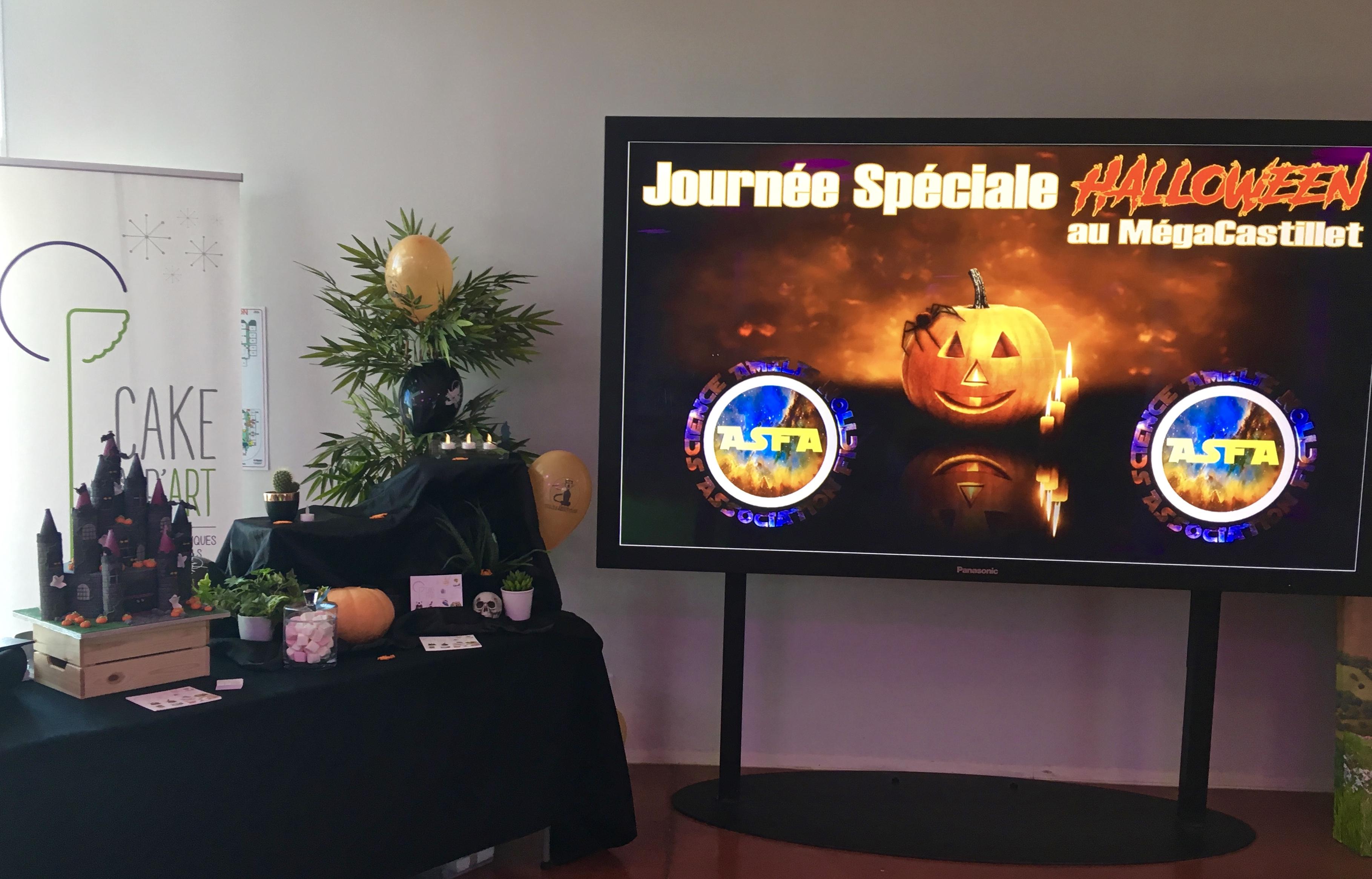 Gâteaux Food Entreprise - Atelier cupcakes Evènement halloween Cinéma Méga Castillet Perpignan