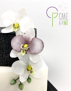 Gâteau Mariage - Baroque - Cakeapart