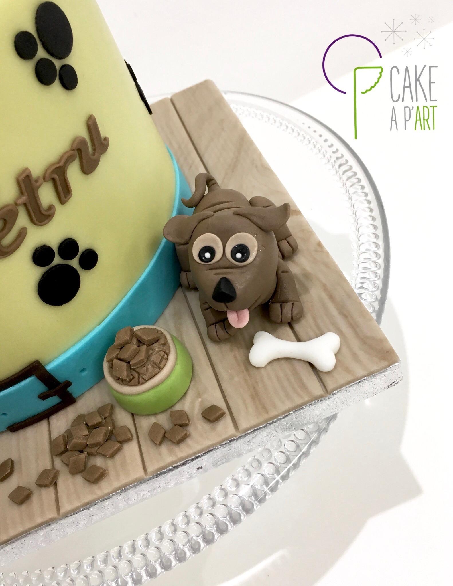 - Gâteau personnalisé anniversaire enfant - Thème Chiens