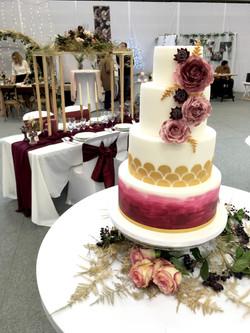 Salon du Mariage Thuir 2020 - Stand CAKE A P'ART Wedding Cake