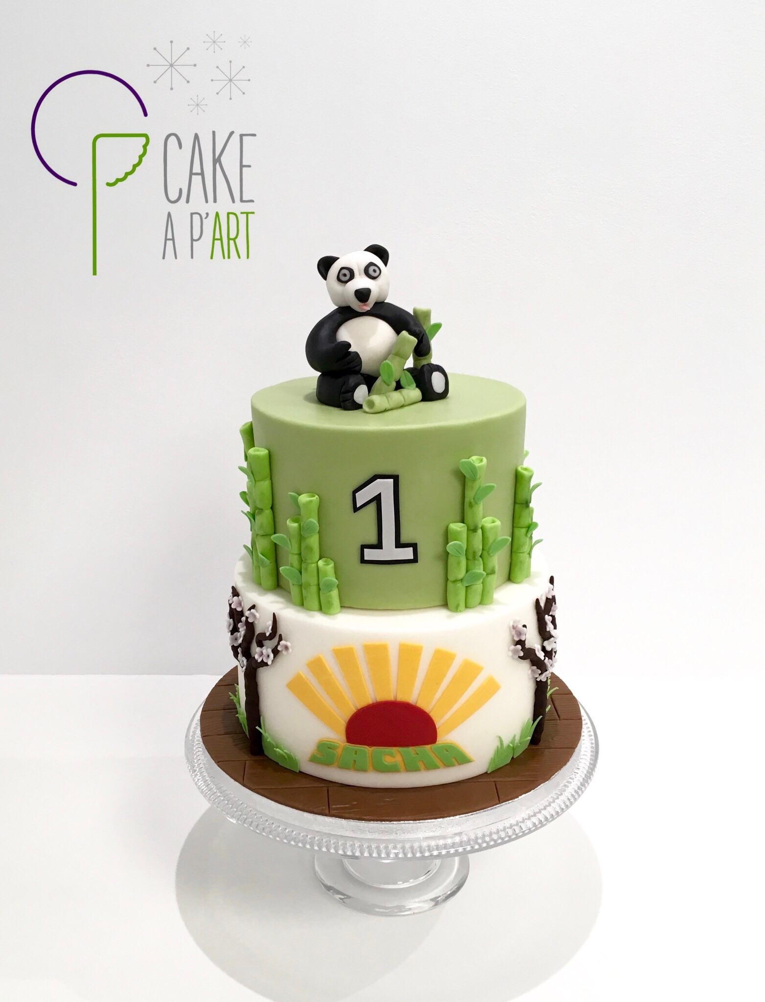 - Gâteau personnalisé anniversaire enfant - Thème Panda chine