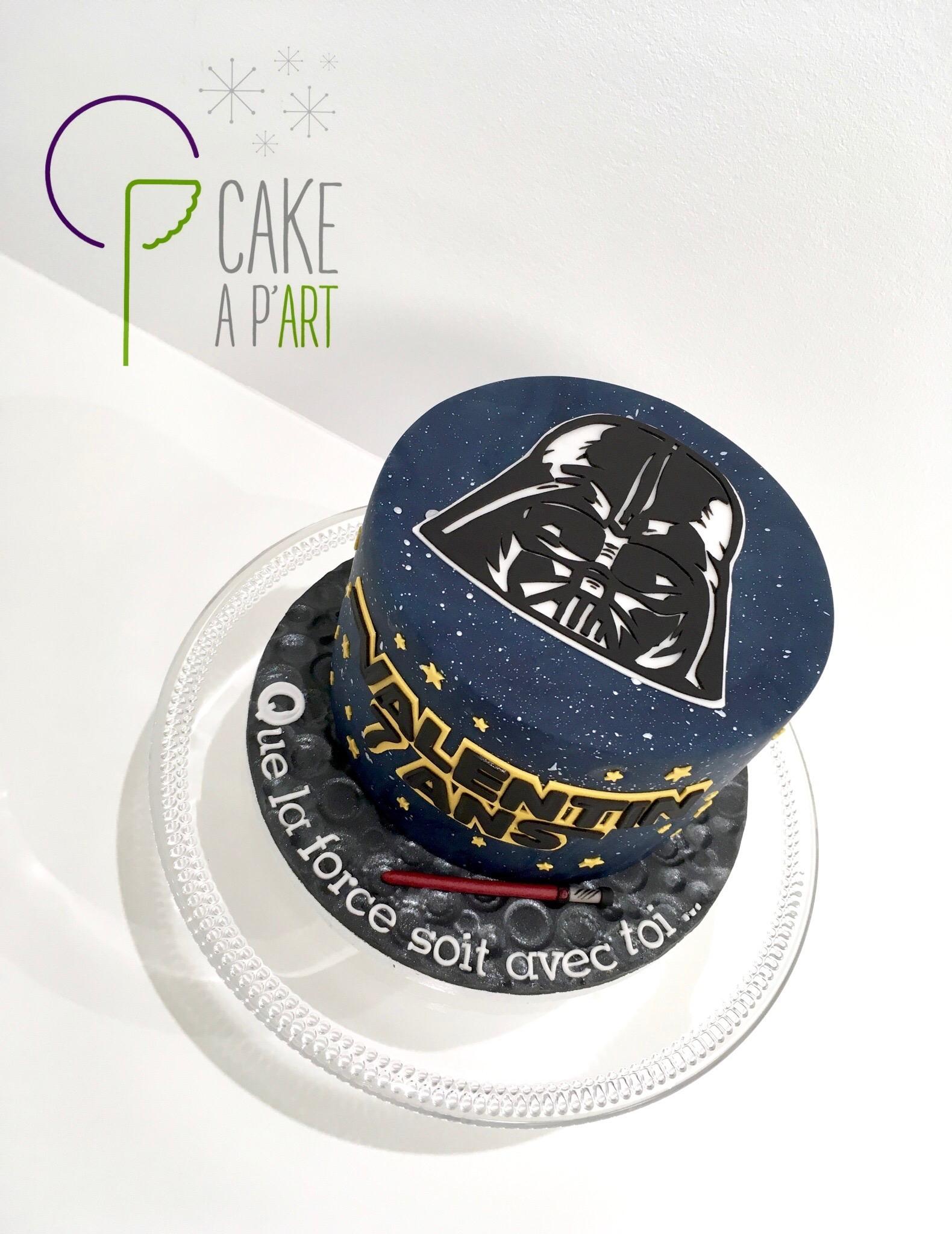 - Gâteau personnalisé anniversaire enfant - Thème Star Wars