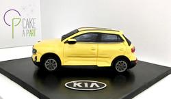 Gâteau sur mesure sculpté 3D - Lancement voiture Stonic Entreprise Kia