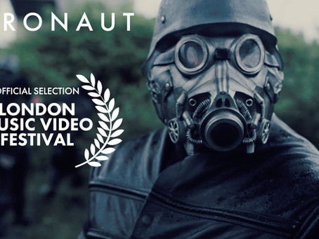 'Astronaut' is nominated for best video at the London Music Video Festival!