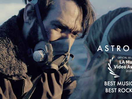 'Astronaut' is nominated for 2 awards at the LA Music Video awards 2020