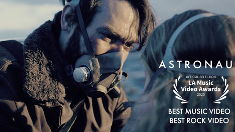 'Astronaut' is nominated for 2 awards at the LA music video awards