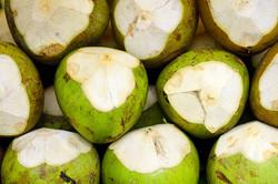 Coconut fuits background