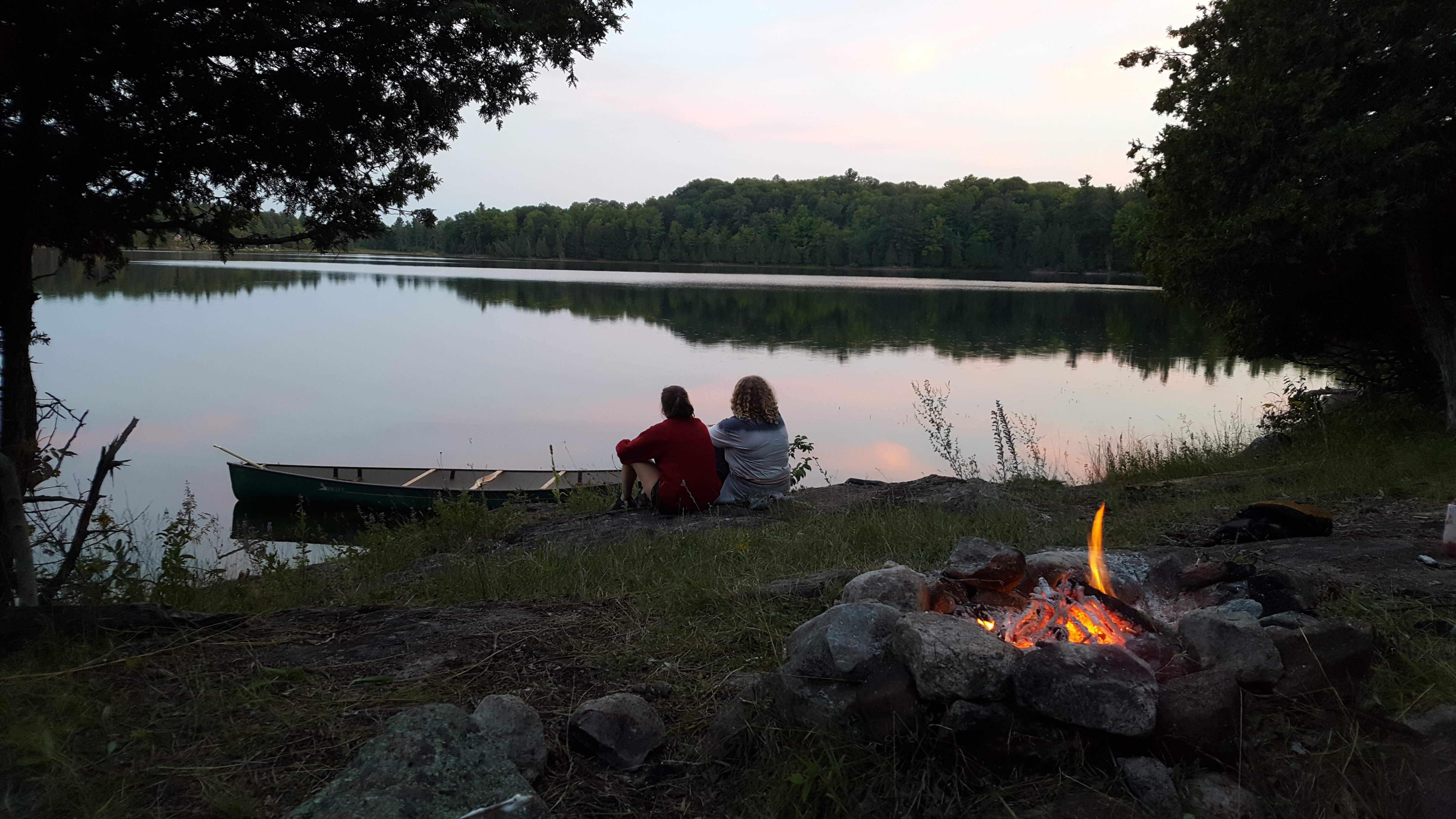 Camp Fires at Camp Celiac
