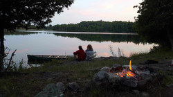 Camp Fires at Camp Celiac