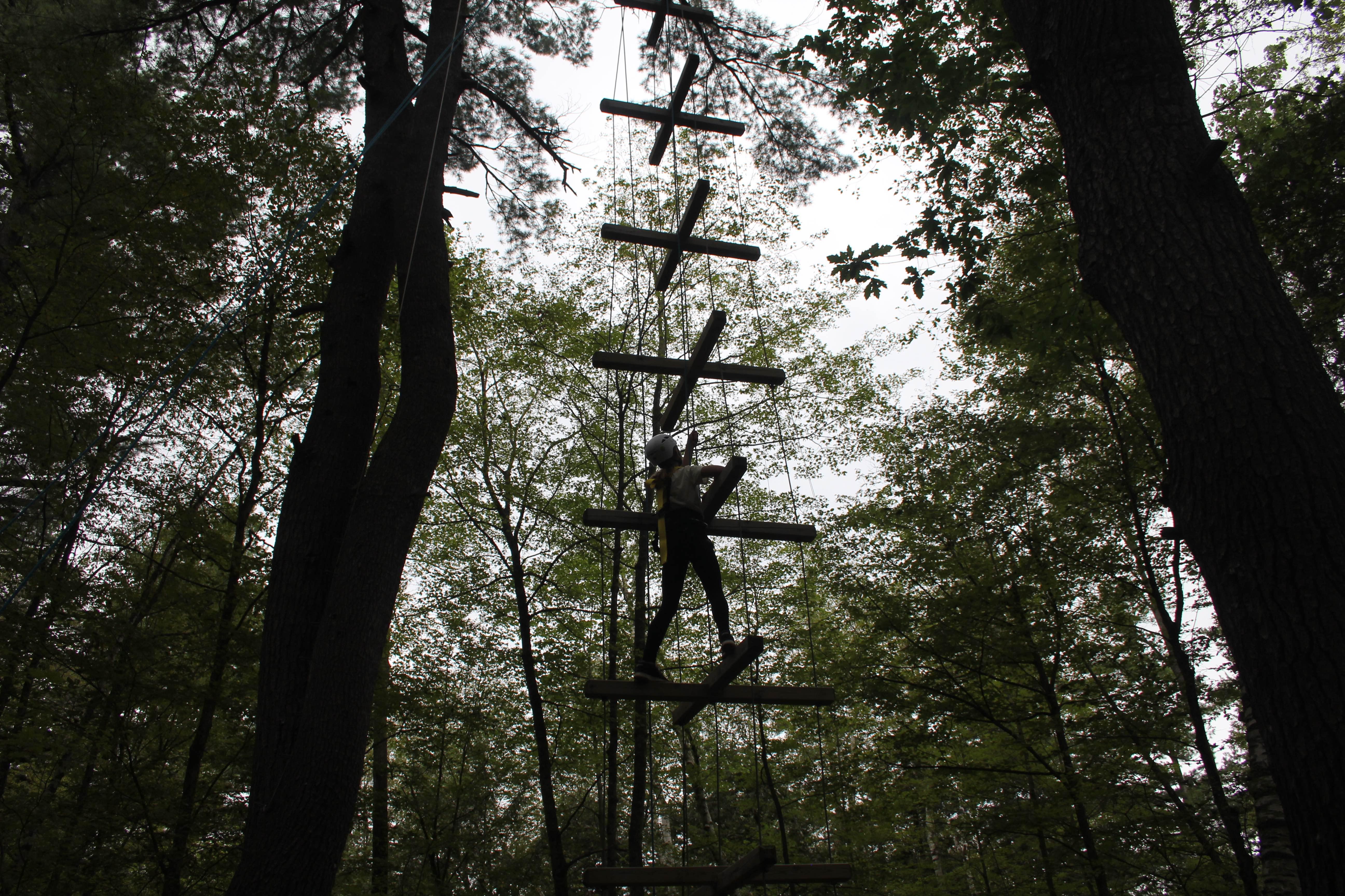 High Ropes at Camp Celiac