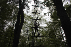 High Ropes at Camp Celiac
