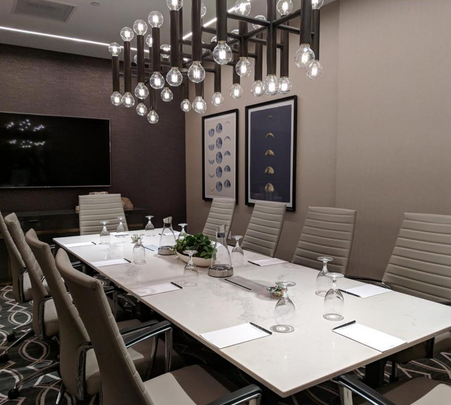 Bright, private meeting rooms