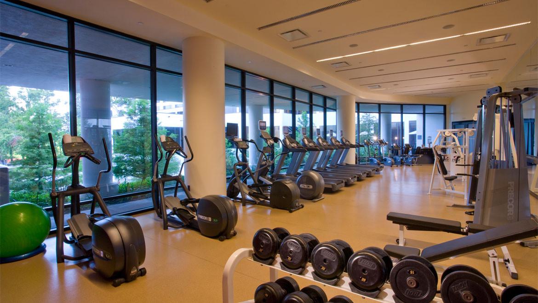 Omni Hotel Houston Fitness Room