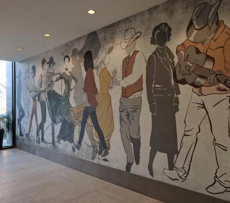Omni Houston Hotel Original Art