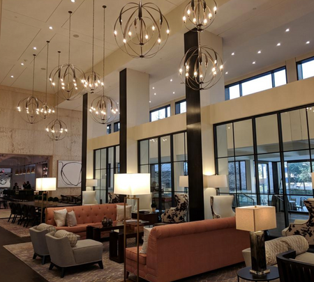 Omni Houston Hotel Lobby