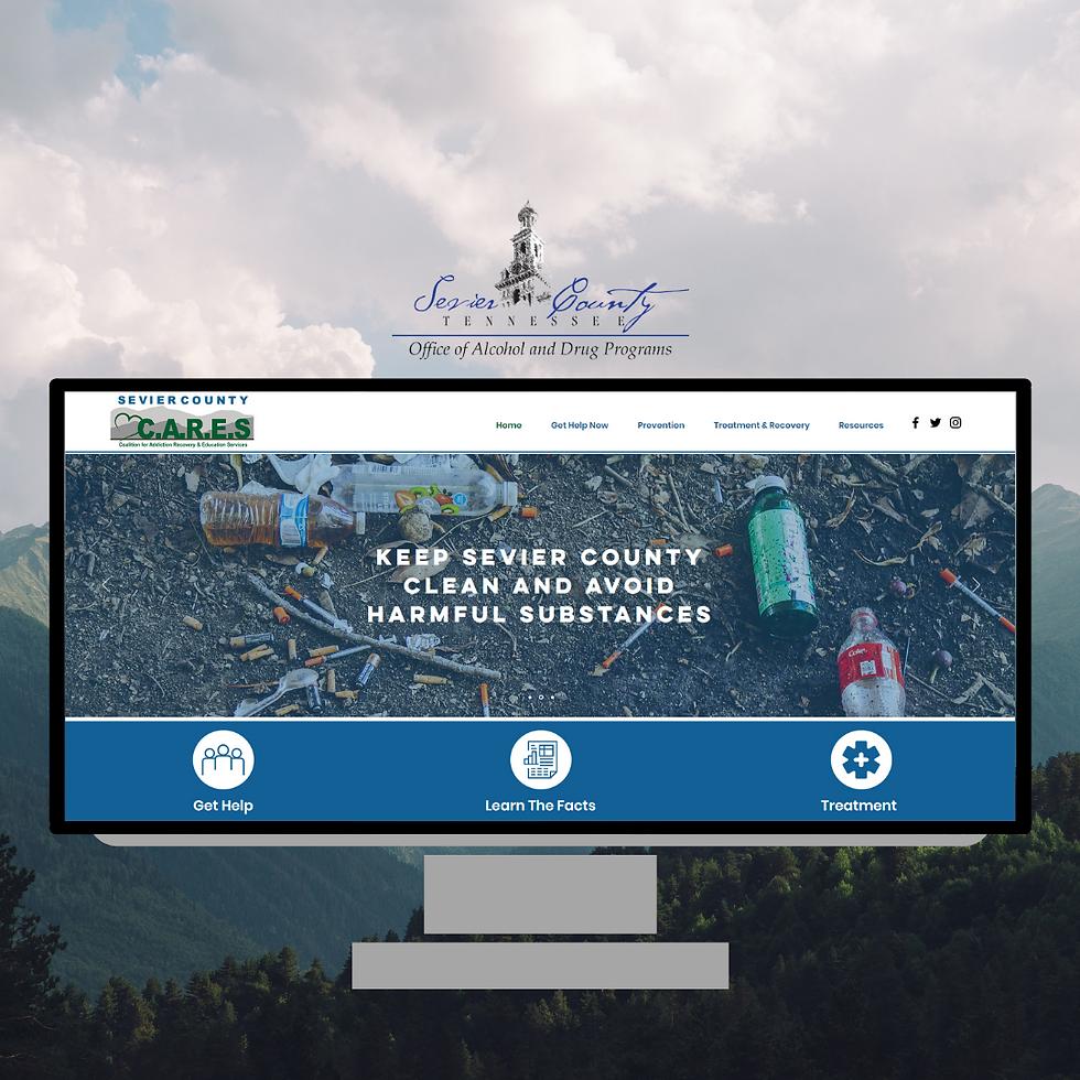 Sevier County Cares Website