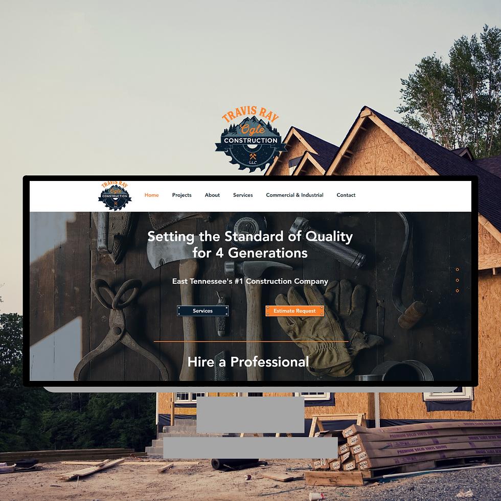 Travis Ray Ogle Construction Websie