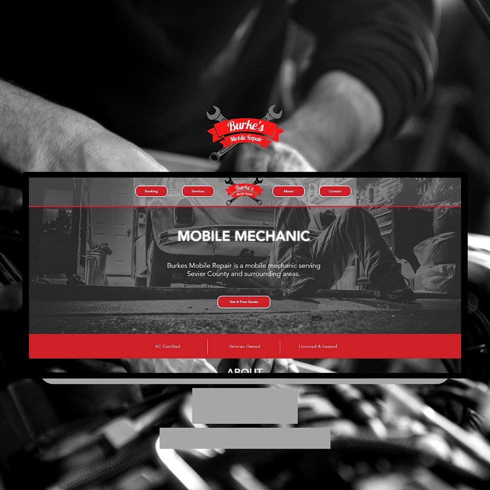 Burkes Mobile Repair Website