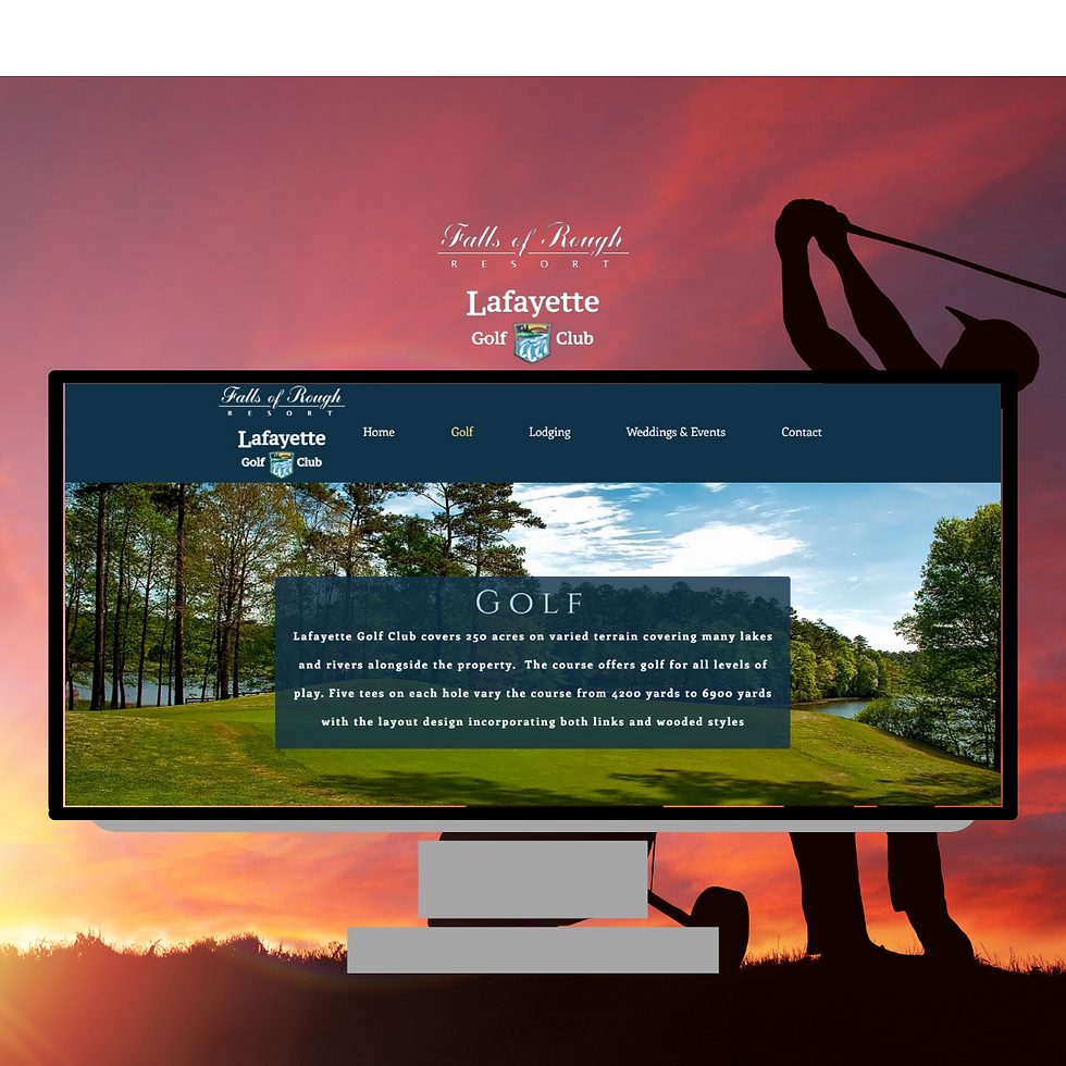 Falls of Rough Golf Club Website