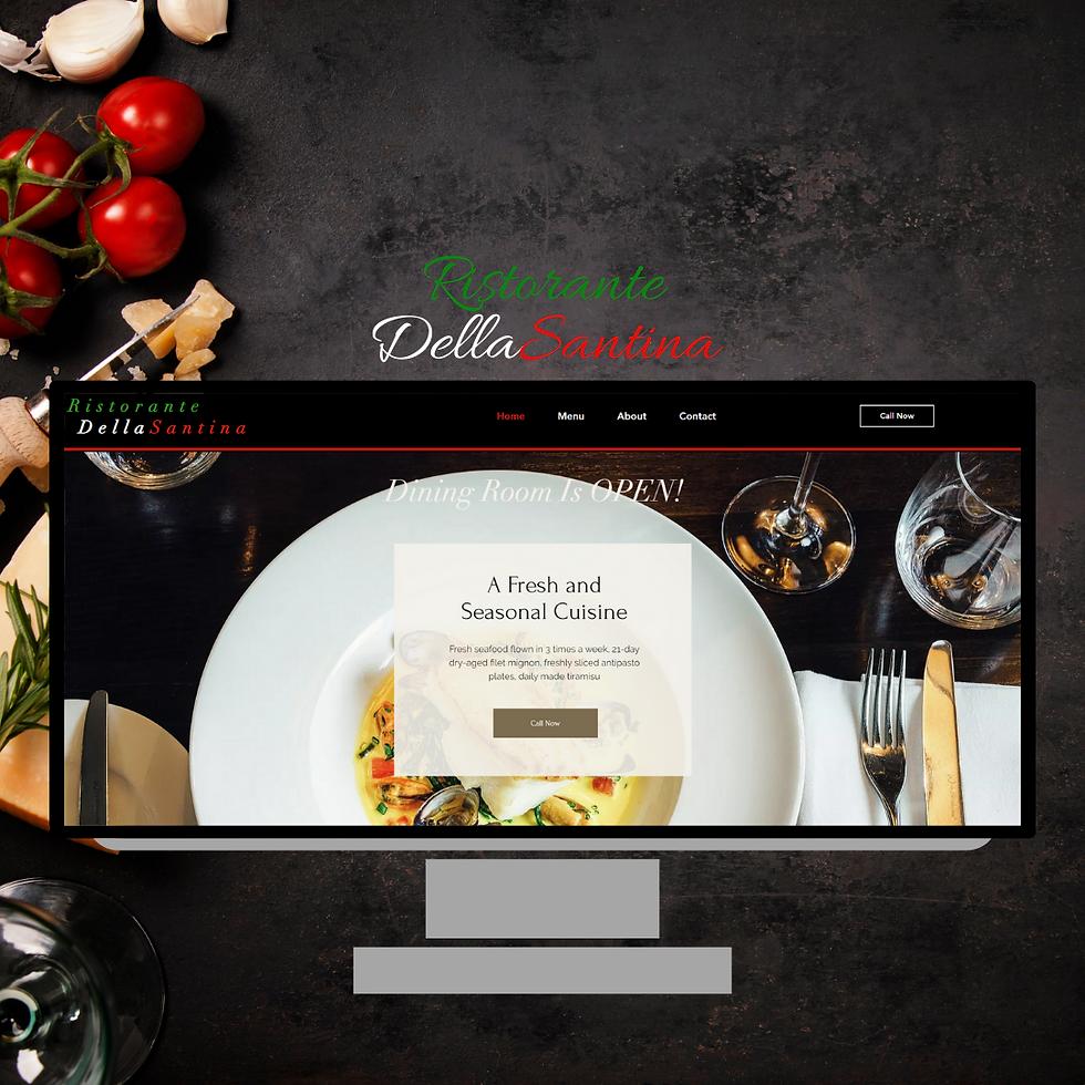 Ristorante DellaSantina Website