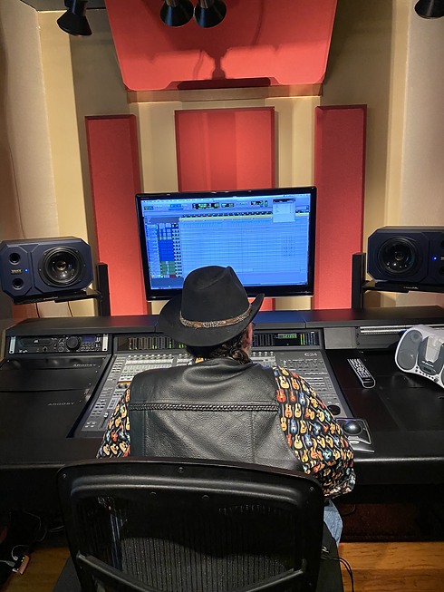 In the studio 2020