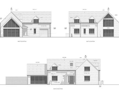 New Cotswold stone dwelling submitted for planning