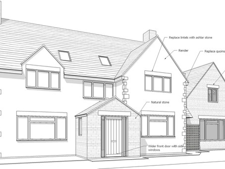 Planning granted for large extension