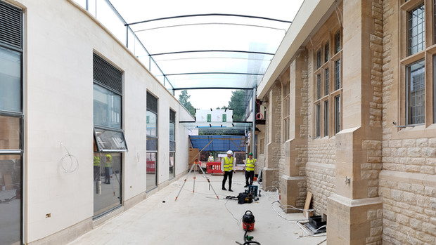 Peking University phase 1 approaches completion on site