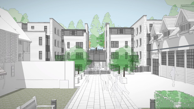 New postgraduate accommodation submitted for planning