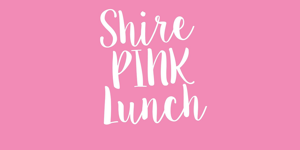 Shire Pink Lunch