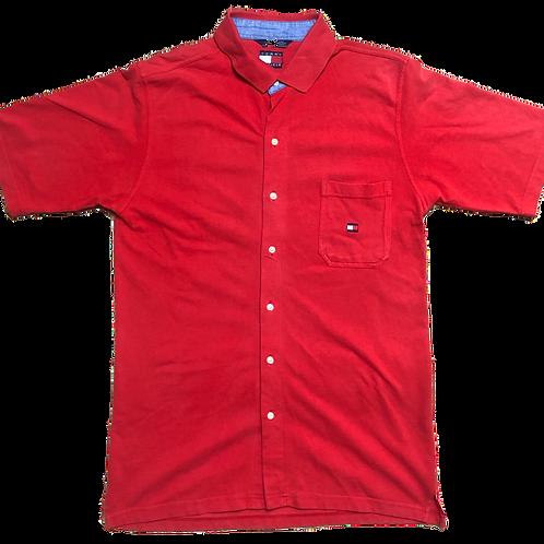 Vintage Tommy Hilfiger Back Logo Shirt L