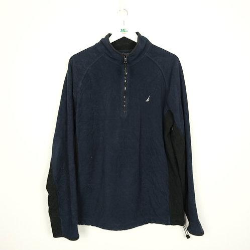 Vintage Nautica Navy Fleece (L)