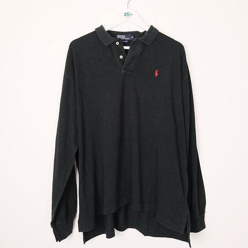 Ralp Lauren Long Sleeve Polo (XL)