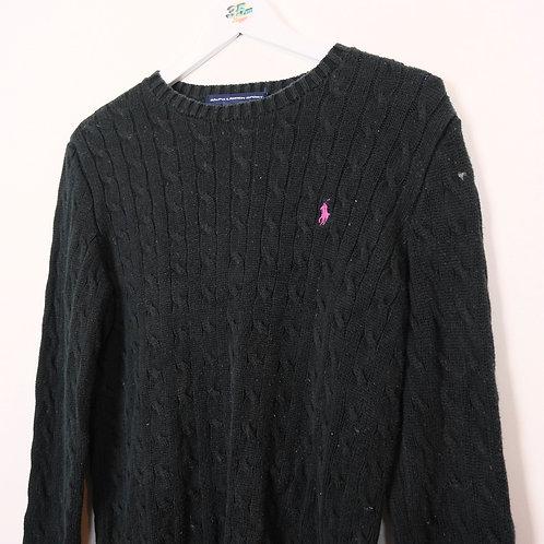 Vintage Ralph Lauren Cable Knit Jumper (XL Ladies)