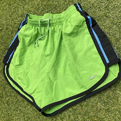 Green Nike Sports Shorts (XS)