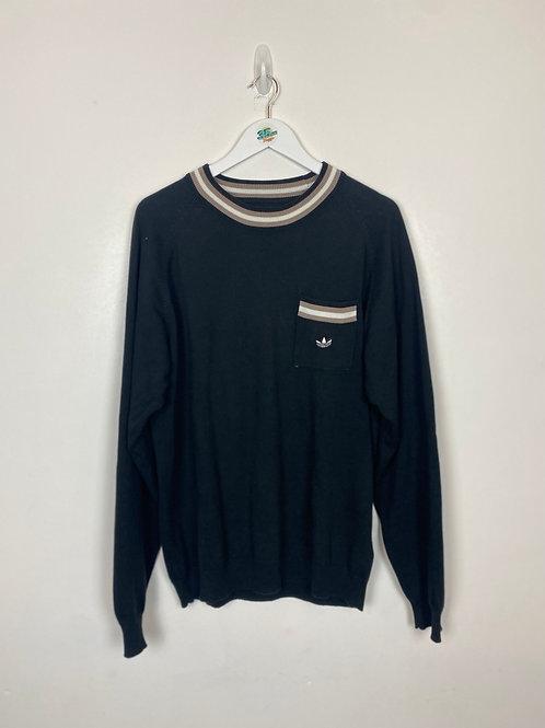 Adidas Knit Sweatshirt (L)