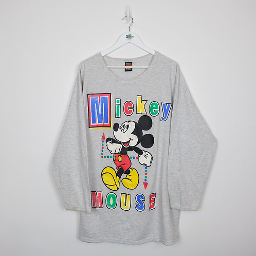 Vintage Mickey Mouse Sweater (XXL)