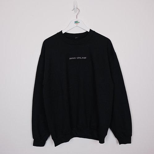 35mm Vintage Black Sweater (L)