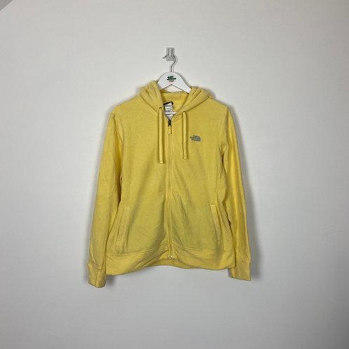 TNF Yellow Hoodie (Women's L)