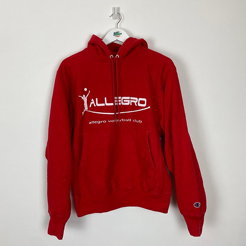 Red Champion Hoodie (S)