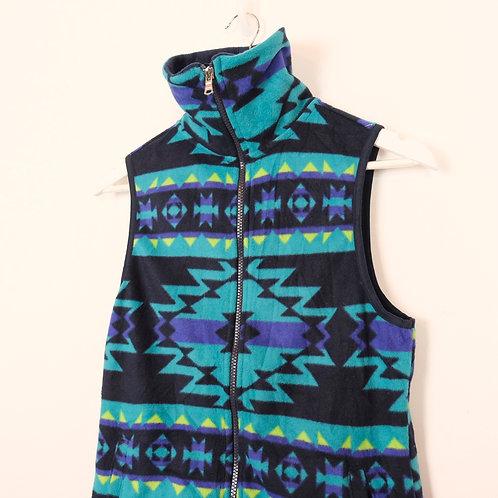 Vintage Chaps Fleece Gilet (XS)